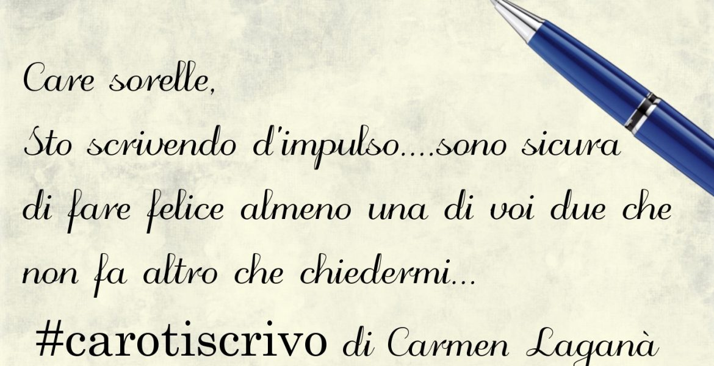 Lettera di Carmen Laganà