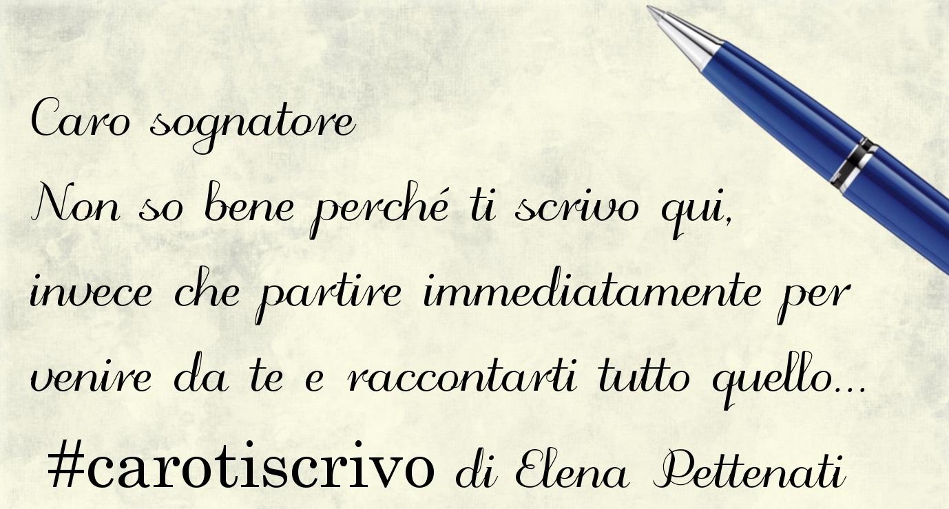 Lettera di Elena Pettenati