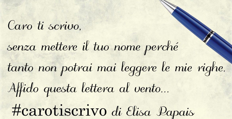 Lettera d'amore di Elisa Papais
