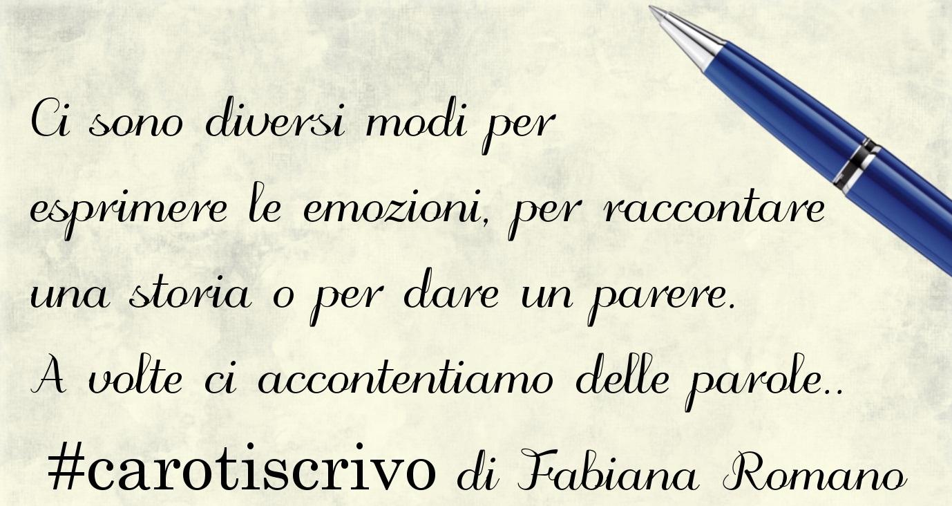 Lettera di Fabiana Romano