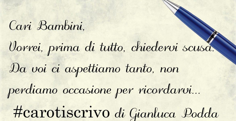Lettera di Gianluca Podda