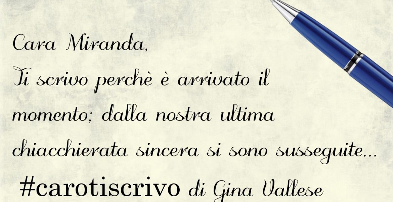 Lettera di Gina Vallese