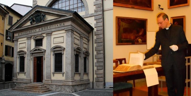 """Don Federico Gallo (Dir. Biblioteca Ambrosiana), """"Le conoscenze contenute nei libri ci aiutano a progredire"""""""