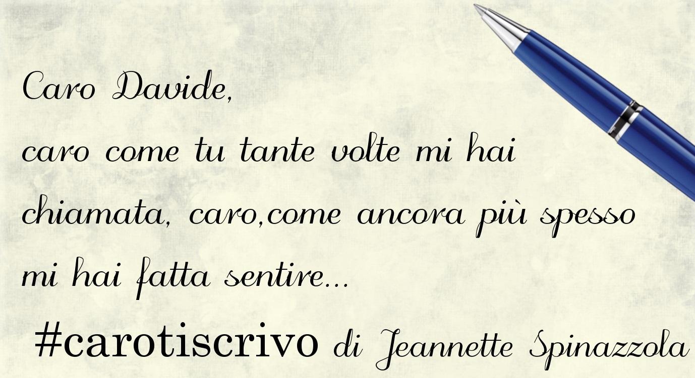 Lettera di Jeannette Spinazzola