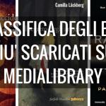 """""""Quello che non uccide"""" di Lagercrantz è l'ebook più scaricato su MediaLibrary"""