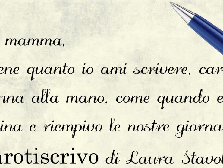 Lettera di Laura Stavolone alla madre