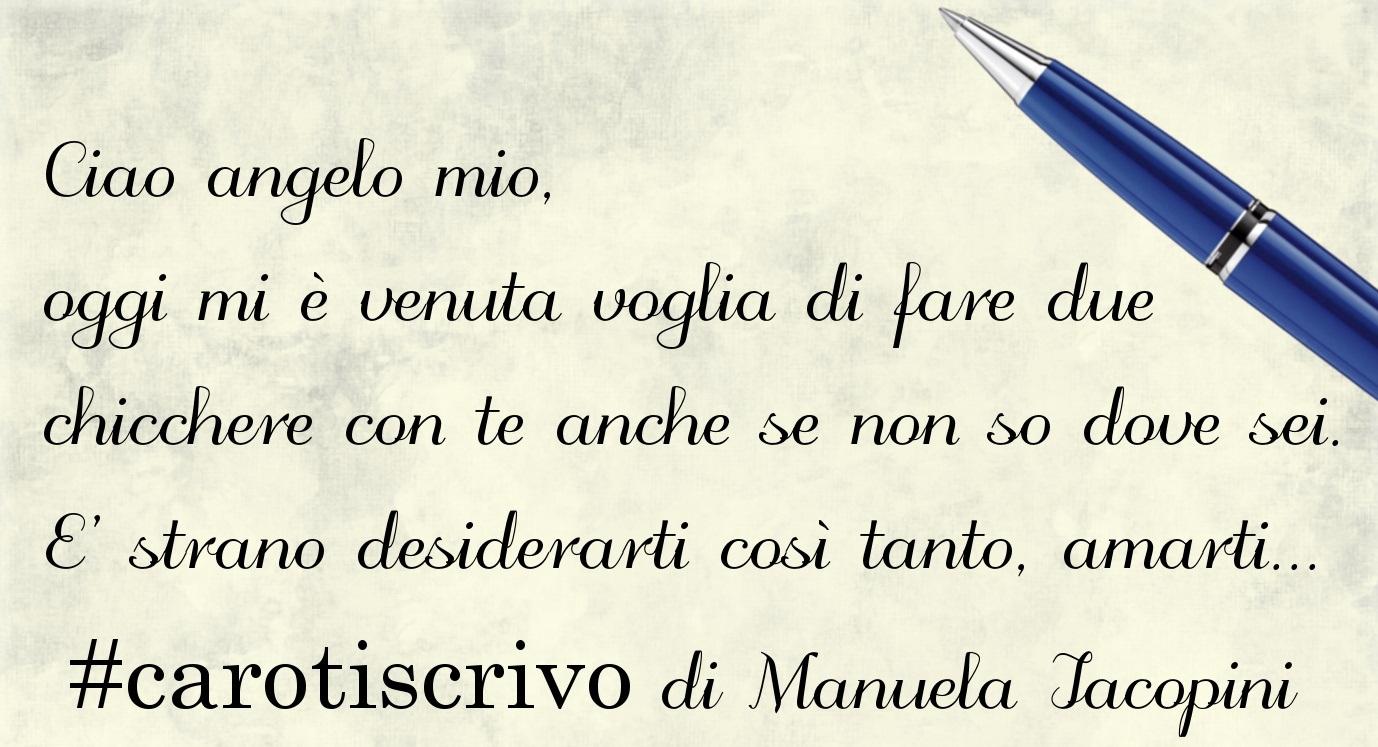 Lettera d'amore di Manuela Iacopini