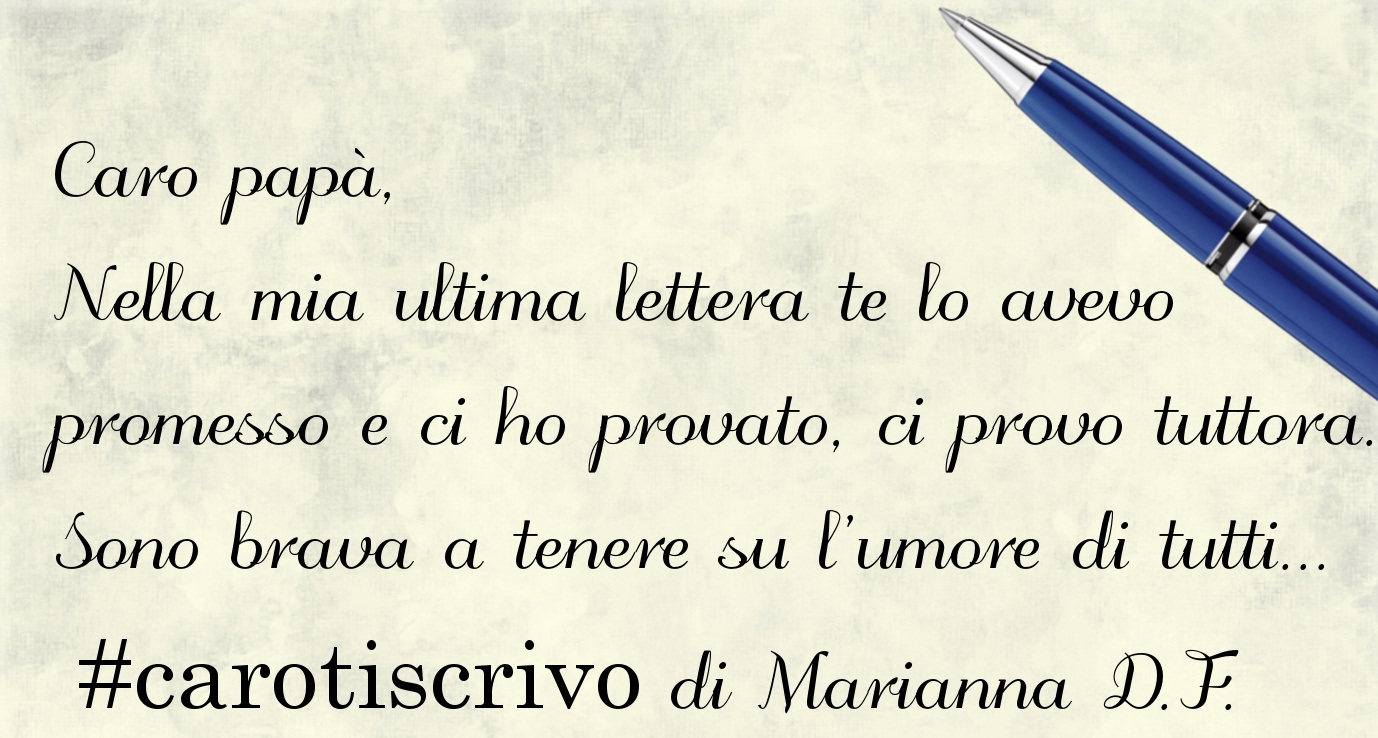 Lettera di Marianna D.F. al padre