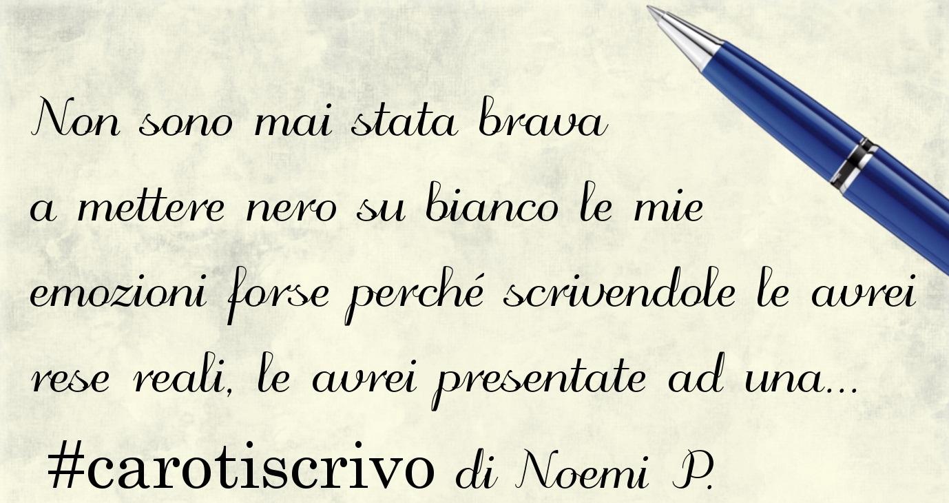 Lettera di Noemi P.