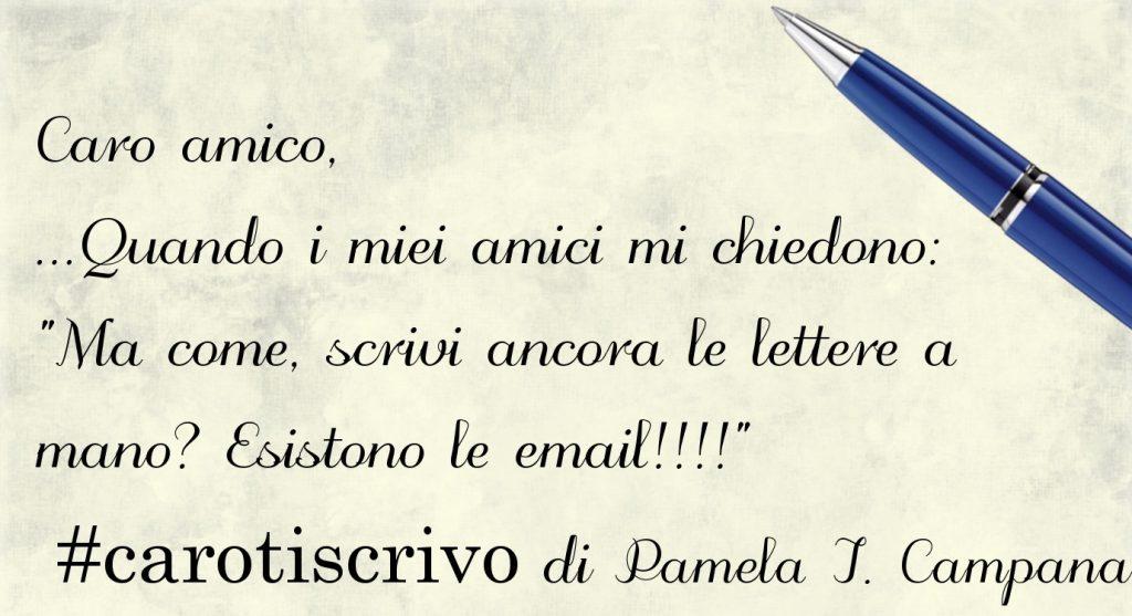 Lettera di Pamela Ines Campana