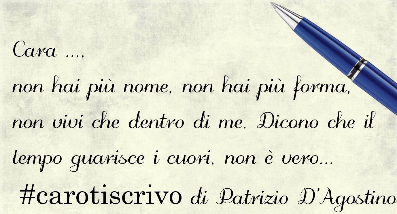 Lettera di Patrizio D'Agostino
