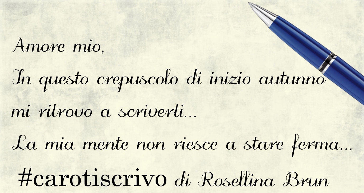 Lettera d'amore di Rosellina Brun