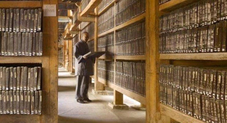 I tesori della biblioteca del Tempio di Haeinsa, patrimonio dell'Unesco