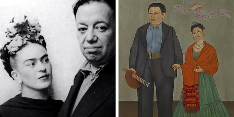 Frida Kahlo e Diego Rivera, storia di un amore folle