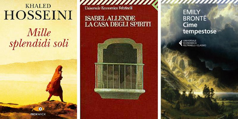 10 libri che le donne amano avere nella propria libreria