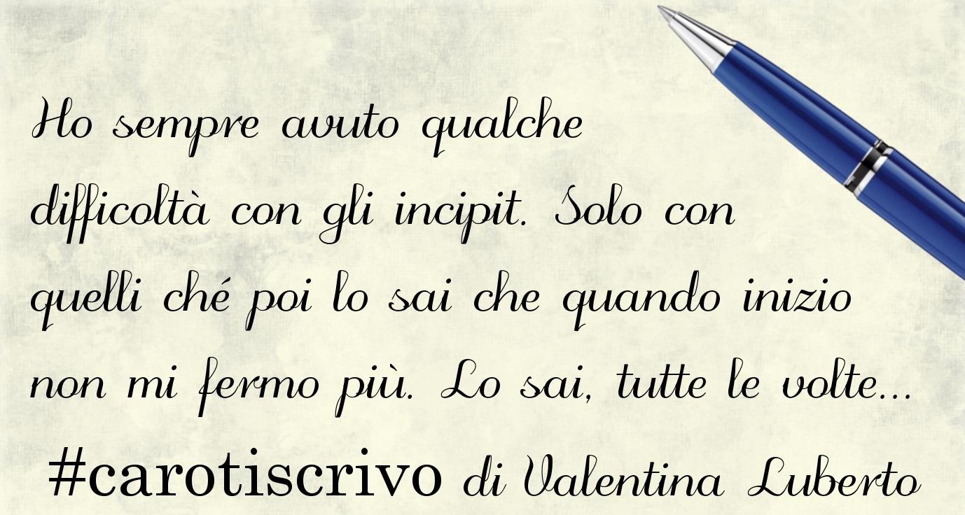 Lettera d'amore di Valentina Luberto