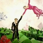 Marc Chagall. Anni russi 1907-1924 | Chagall - La passeggiata