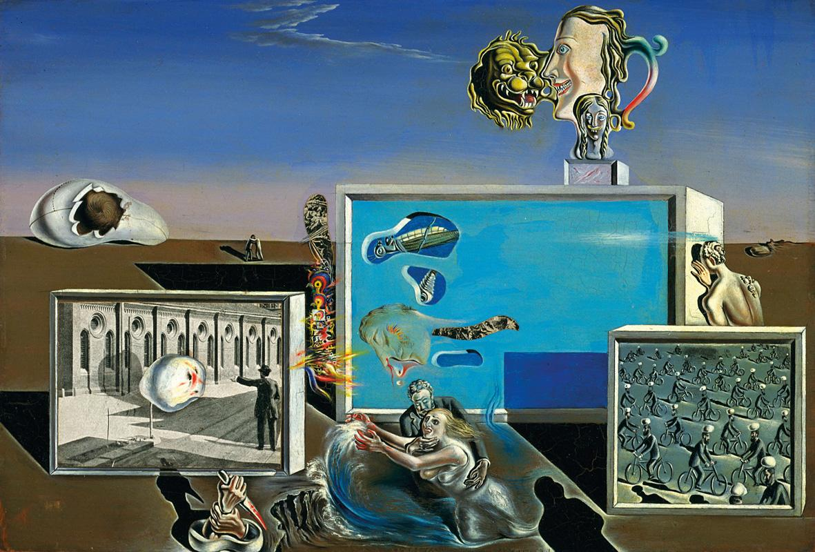 Salvador Dalí: Gradiva retrouve les ruines anthropomorphes (fantaisie rétrospective)