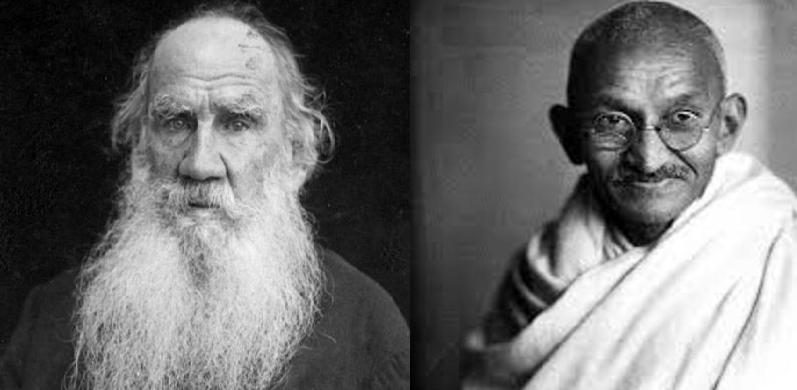 Lettera di Lev Tolstoj a Mahatma Gandhi