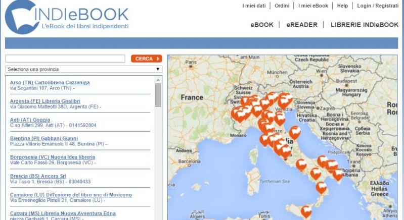 Nasce INDIeBOOK, le librerie indipendenti si allargano alla lettura digitale