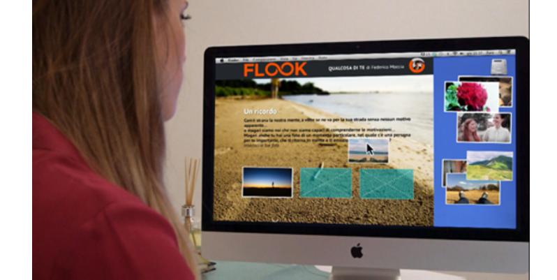 Flook, l'app per personalizzare il libro del cuore come un social network