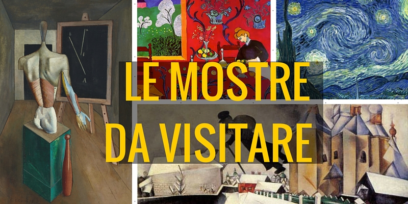 Le mostre da visitare questo week-end