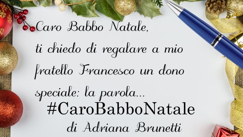 Lettera di Natale di Adriana Brunetti