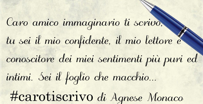 Lettera di Agnese Monaco