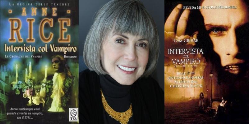 """""""Intervista col vampiro"""", dal romanzo di Anne Rice alla pellicola cinematografica"""