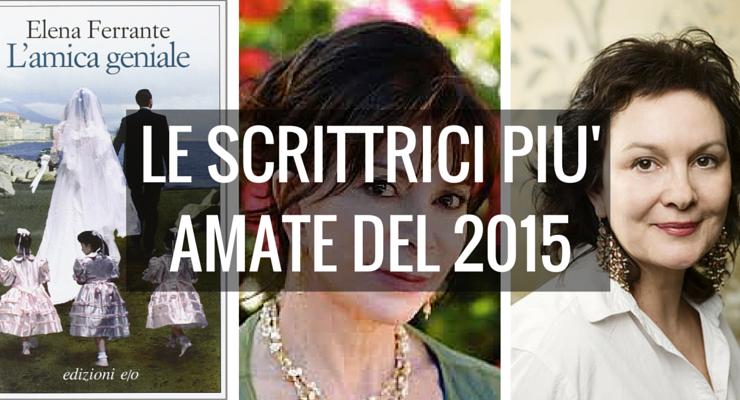 Le 10 scrittrici più amate del 2015