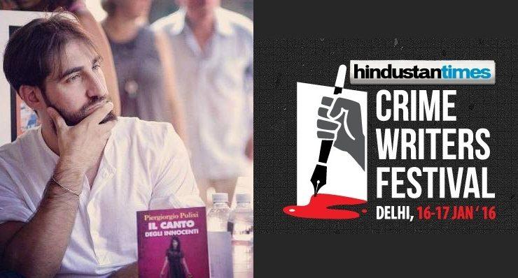 Lo scrittore Piergiorgio Pulixi rappresenterà l'Italia al Crime Writers Festival in India