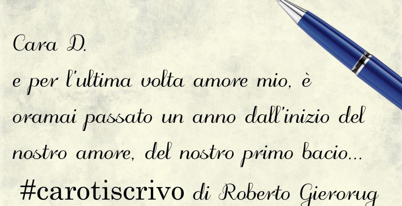Lettera di Roberto Gierorug