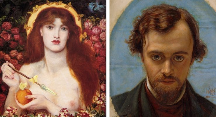 Dante Gabriele Rossetti e Elizabeth Siddal, un amore bohémien