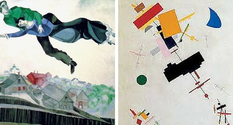 Chagall e Malevič: due mostre un solo biglietto