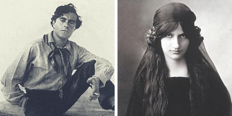 Modigliani e Jeanne, i colori della passione.