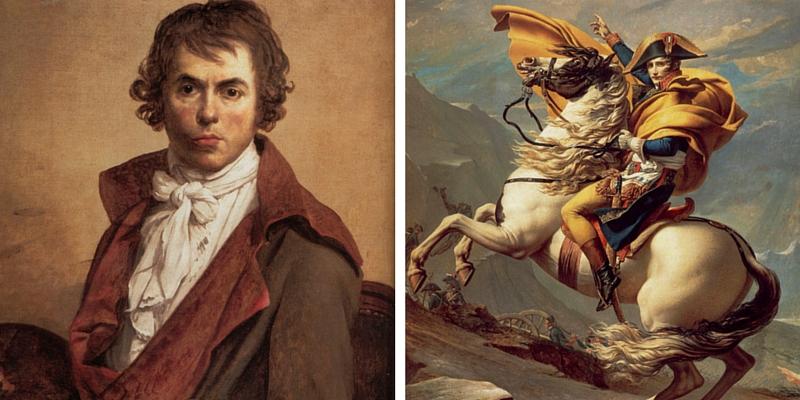 Jacques-Louis David, il pittore rivoluzionario.