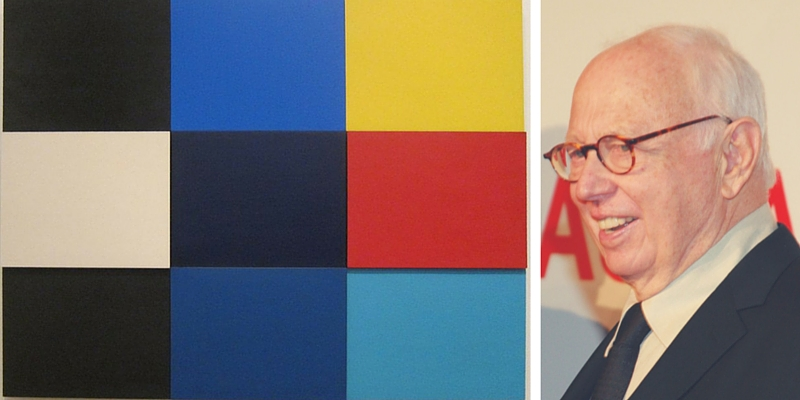 Addio a Ellsworth Kelly, il maestro americano dell'Hard Edge Painting
