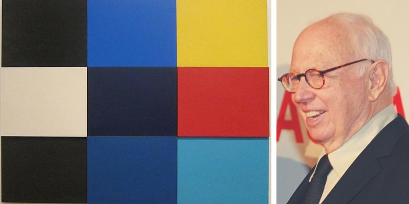 Addio a Ellsworth Kelly, il maestro americano dell'Hard Edge Painting