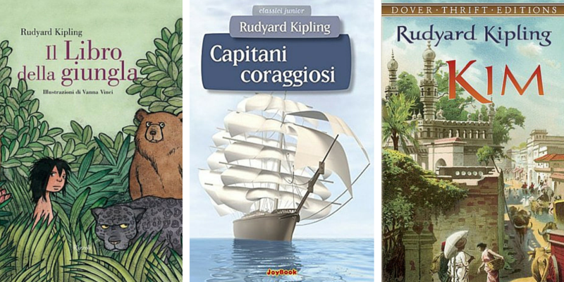 Rudyard Kipling, i libri più famosi