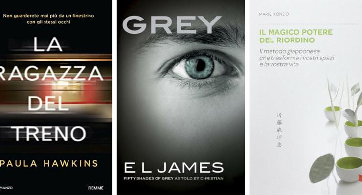 I libri più venduti su Amazon nel 2015