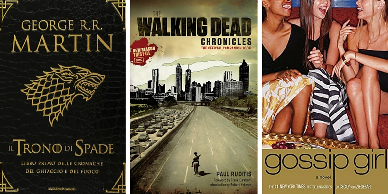 I 10 libri da cui sono state tratte serie tv di successo