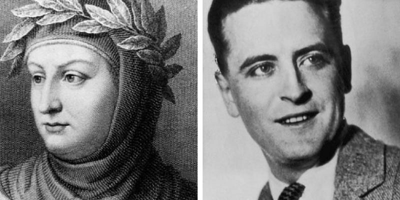 Il mondo delle lettere ricorda Fitzgerald, Giovanni Bocaccio e il poeta Trilussa, poeta noto per le sue opere in romanesco. - Untitled-design4