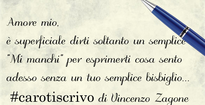 Lettera d'amore di Vincenzo Zagone