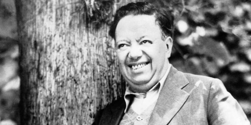 """Diego Rivera, il """"gigante"""" dei murales."""