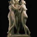 Nudo artistico, le 10 opere d'arte italiane più famose | 3 grazie, Canova