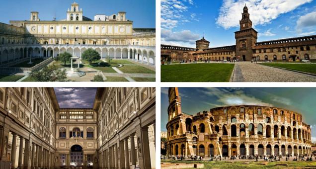 # , nel 2015 boom di visitatori nei luoghi di cultura