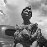 "Frida Kahlo. Fotografie di Leo Matiz | ©Eva Alejandra Matiz and ""The Leo Matiz Foundation"""