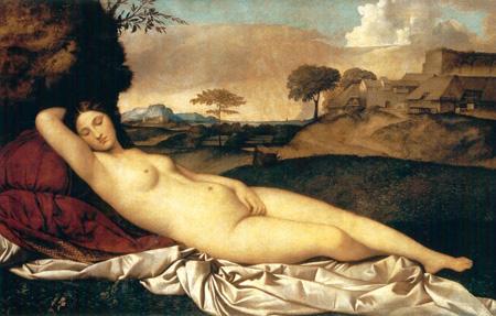 Venere dormiente, Giorgione