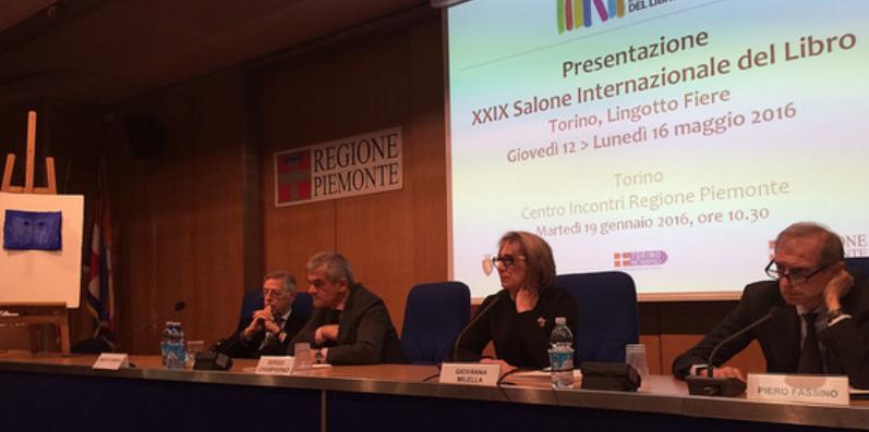 Il 29° Salone Internazionale del Libro di Torino si svolgerà a Lingotto Fiere da giovedì 12 a lunedì 16 maggio 2016