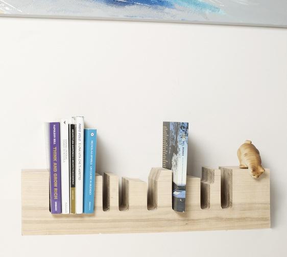 Come rendere originale la propria libreria di casa con mensole di ...